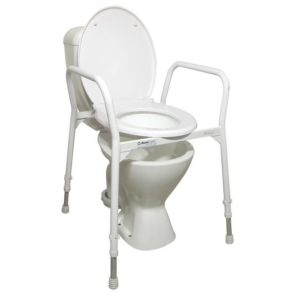 Toilet Frame With Seat.Auscare Over Toilet Frame With Seat